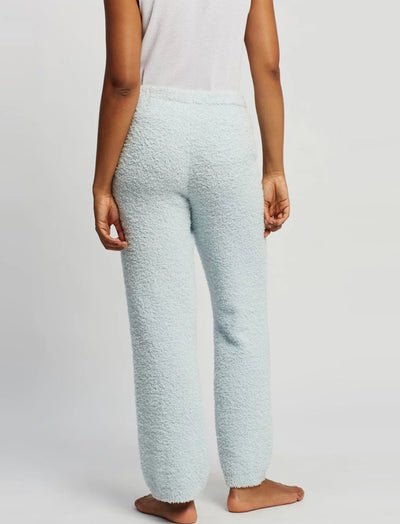 Cozy Knit Pant in Powder Blue
