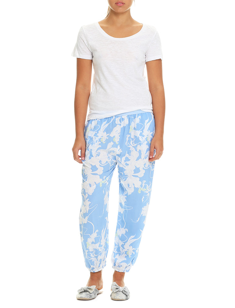 Dahlia Blue Harem Pants