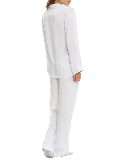 Pure Silk Dove Grey Pyjamas
