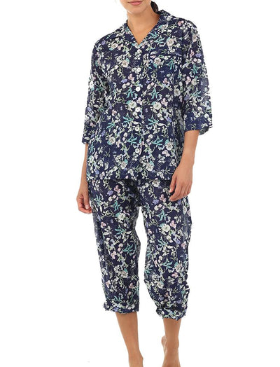 Emmy Dark Crop PJ