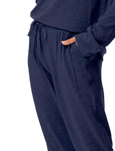 Feather Soft Jogger in Navy