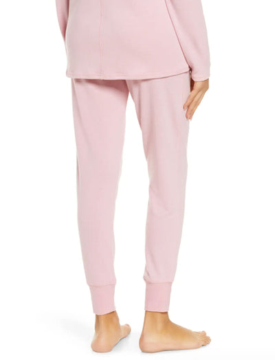 Feather Soft Jogger in Peony Pink