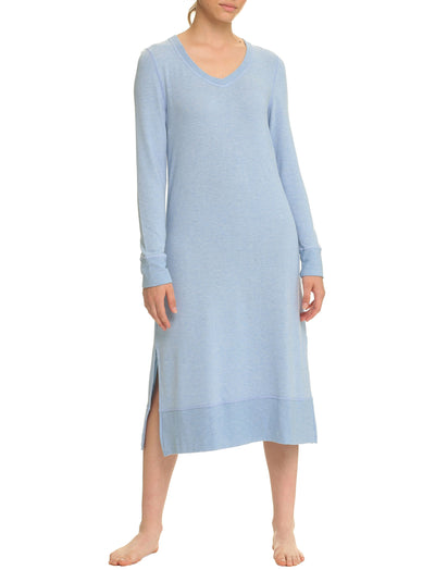 Feather Soft Nightie in Powder Blue