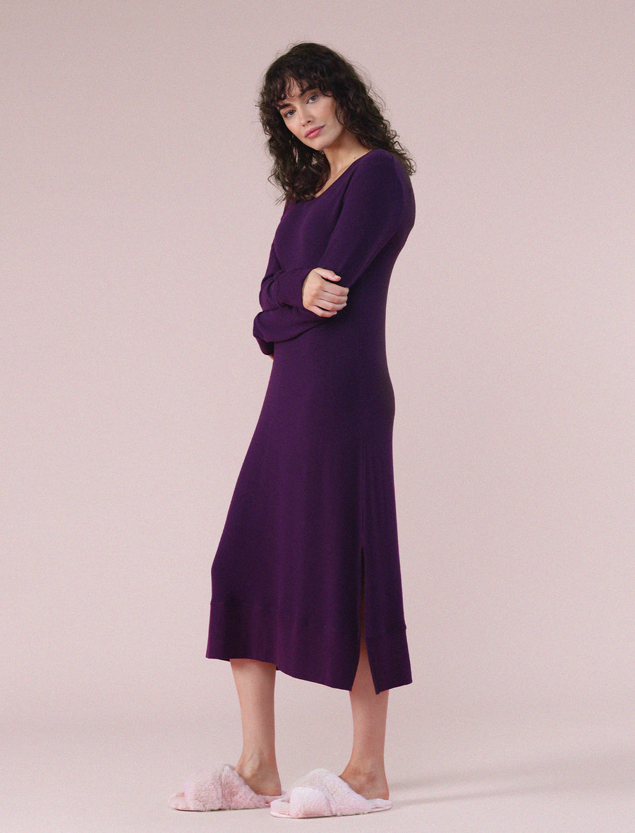 Feather Soft Nightie in Prune