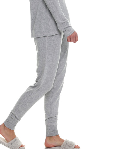 Feather Soft Grey Jogger with Musk Stitch