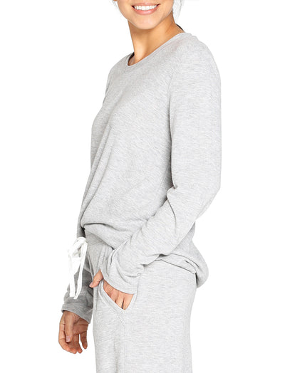 Feather Soft Grey Long Sleeve