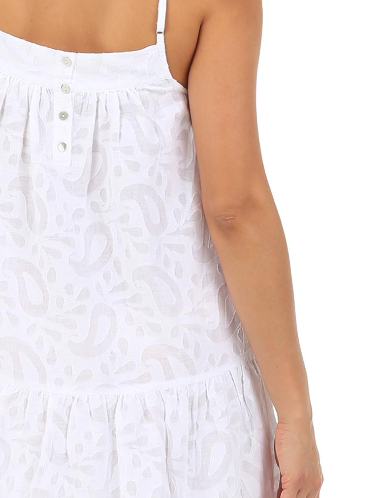 Dreamy Paisley Tiered Midi Nightie