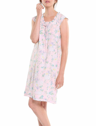 Gess Pink Flutter Nightie
