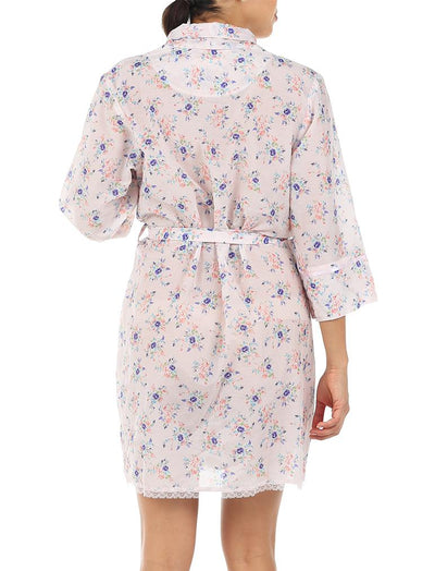 Iggy Pink Short Robe