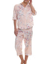 Jardin Rose 3/4 PJ Set