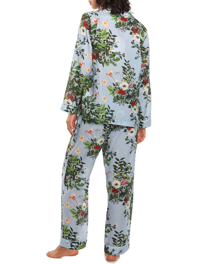 Karen Walker Love Letter Blue Floral Full PJ