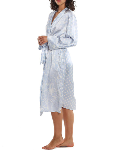 Karen Walker Spliced Ivy Robe