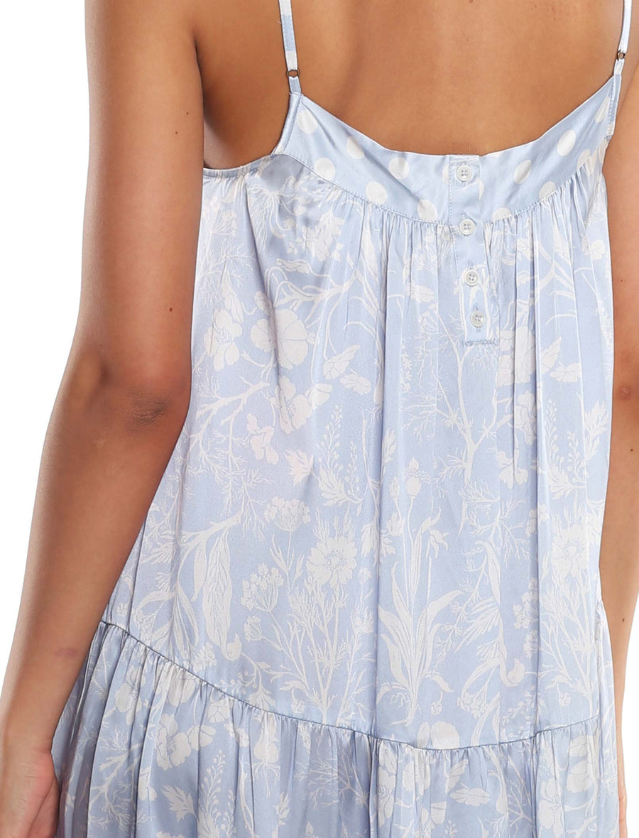 Karen Walker Spliced Ivy Tiered Nightie
