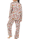 Karen Walker Silk Animal Magic Full Length PJ
