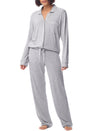 Kate Modal PJ Set in Light Grey