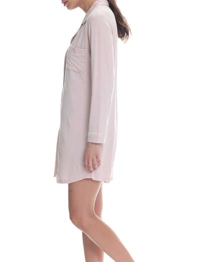 Modal Kate Nightshirt in Rosewater