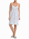 Linen Garden Blue Nightie