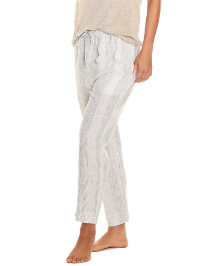 Resort Linen Stripe Pant