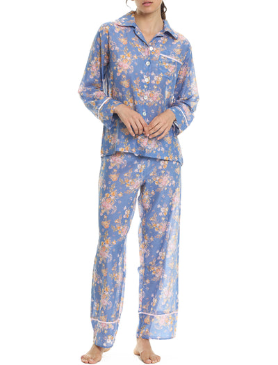 Lou Lou Bleu Full Length Pyjama Set
