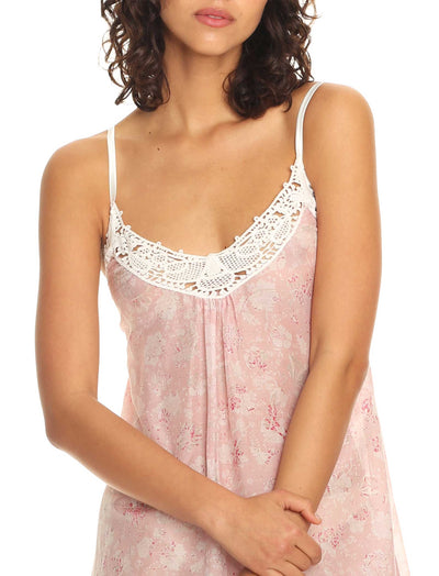 Louis Pink Maxi Nightie