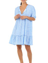 Mathilda Blue Pintuck Nightie
