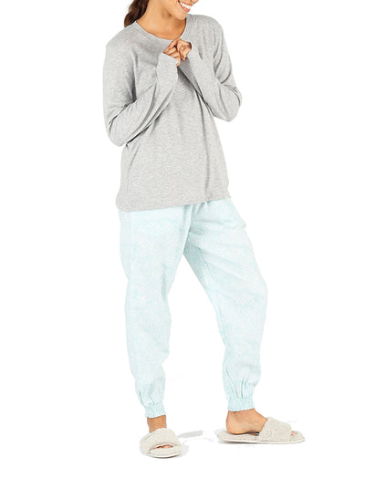 Meadow Blue Green Jogger Pants