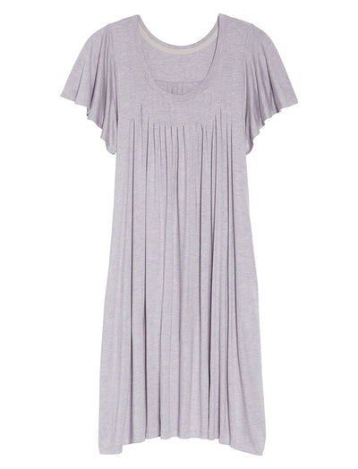 Modal Soft Flutter Nightie, Lilac