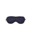 Silk Boxed Eye Mask in Navy