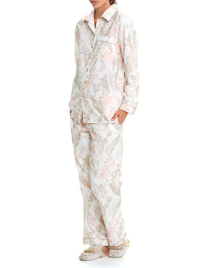 Orchid Brushed Cotton PJ Set