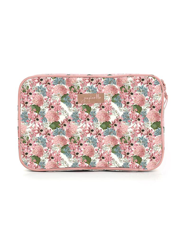 Paloma Pink Large Fold Out Cosmetic bag