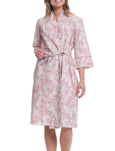 Pixie Floral Mid Length Robe
