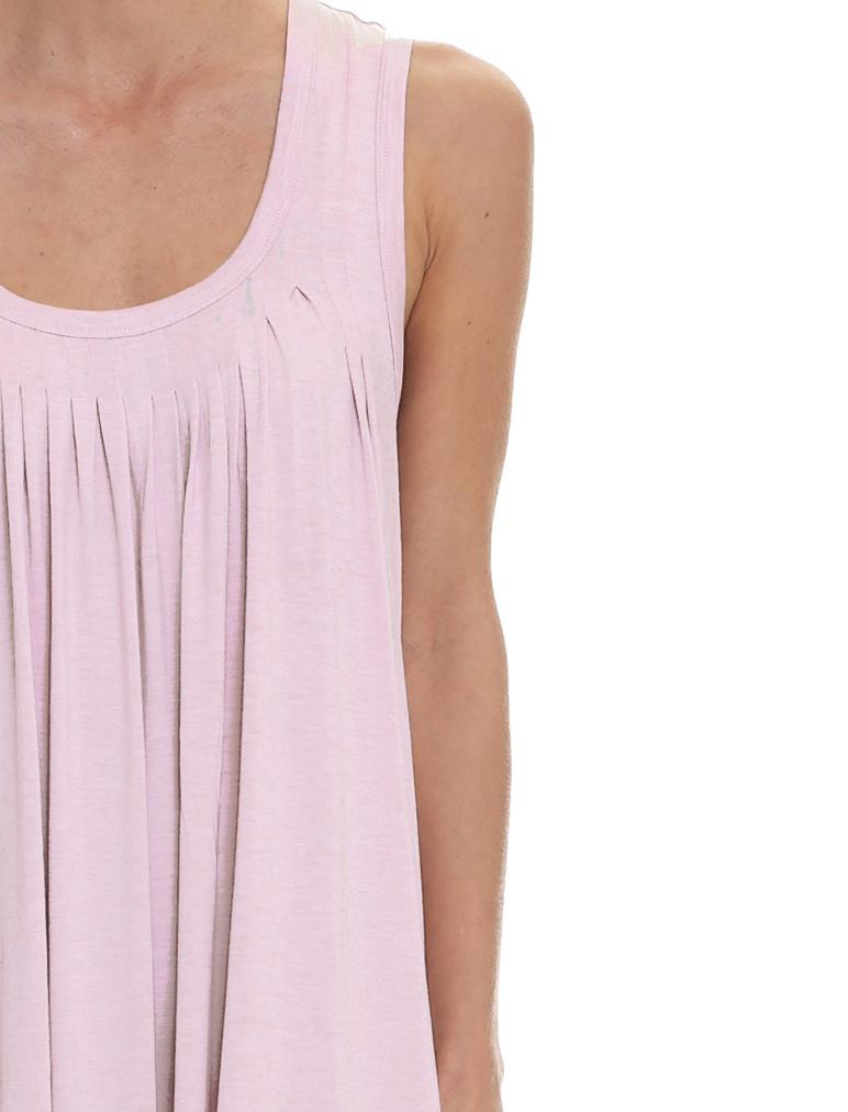 Modal Soft Pleat Front Nightie, Rose