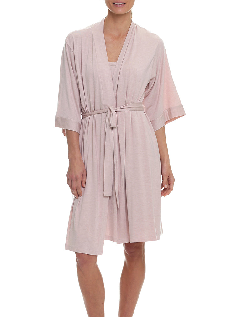 Modal Summer Robe, Rosewater