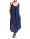 Swiss Dot Navy Maxi Nightie
