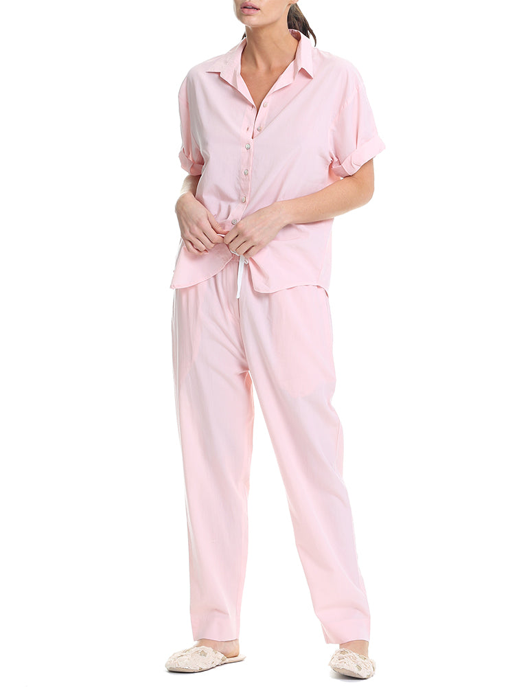 Classic Whale Beach Pink PJ Pants