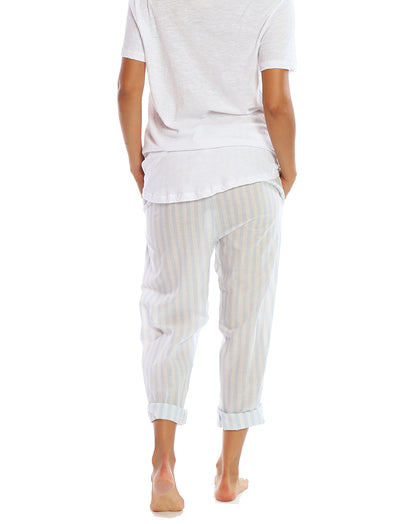 Classic Whale Beach Stripe PJ Pants