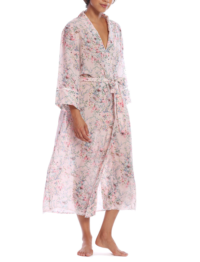Yolly Pink Maxi Robe