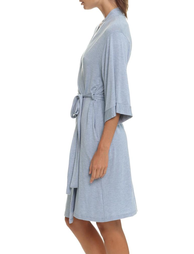 Modal Robe, Blue Grey