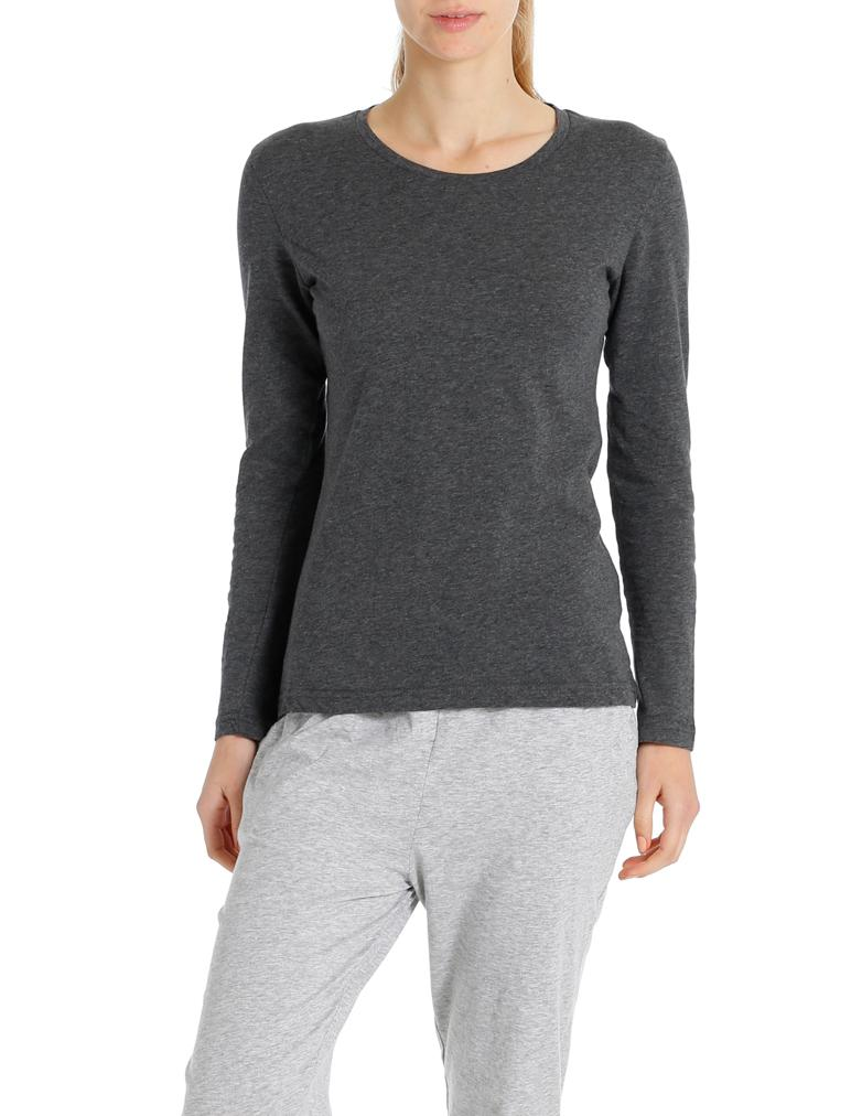 Basic Charcoal Long Sleeve Tee