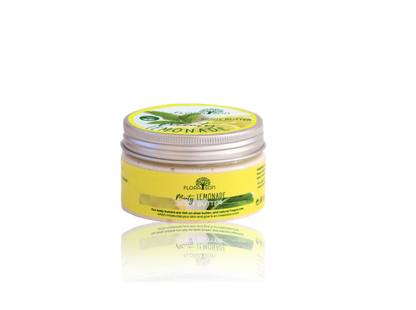Body Butter Minty Lemonade