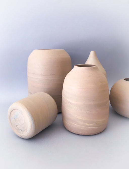 hand made porcelain vases