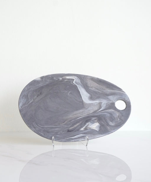 OBSIDIAN MARBLE CHEESE BOARD