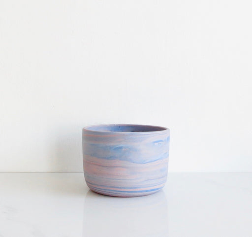 DENIM | ROSE MARBLED PLANTER