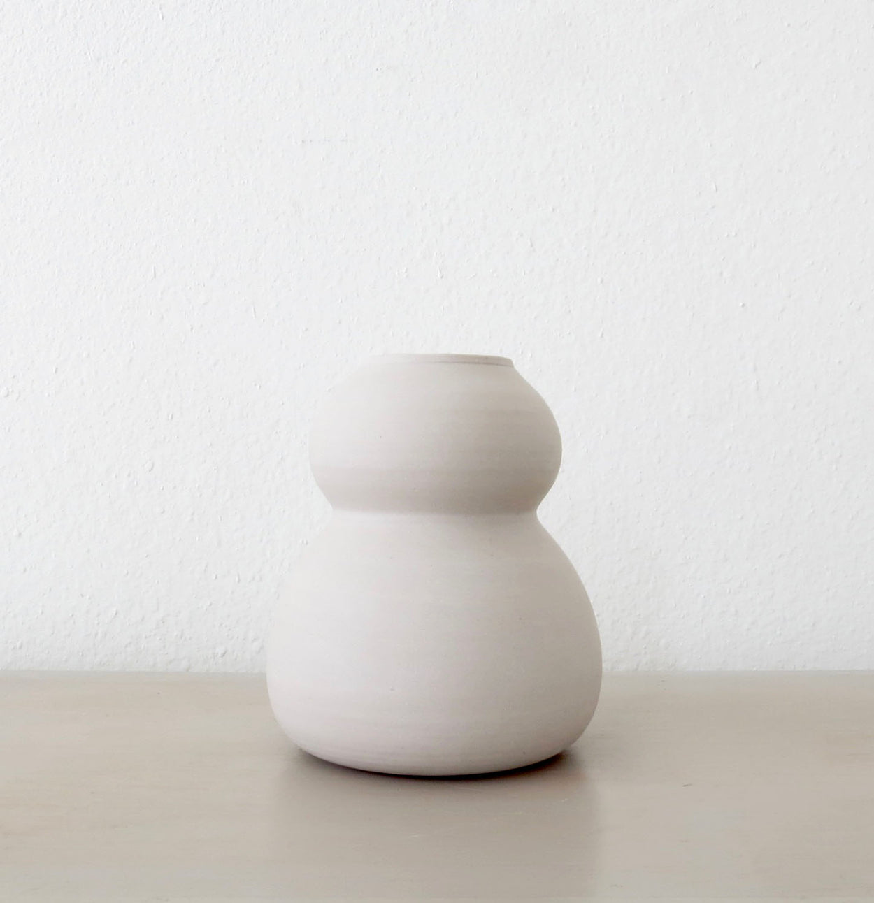 MIXED MARBLE GOURD VASE
