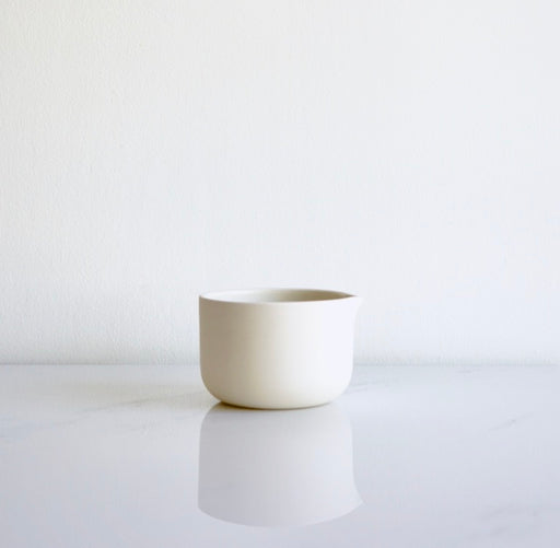NATURAL PORCELAIN MATCHA BOWL