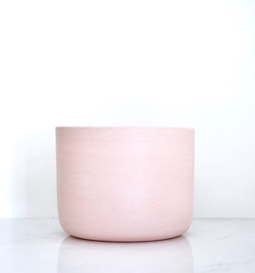 LARGE BLUSH PORCELAIN PLANTER