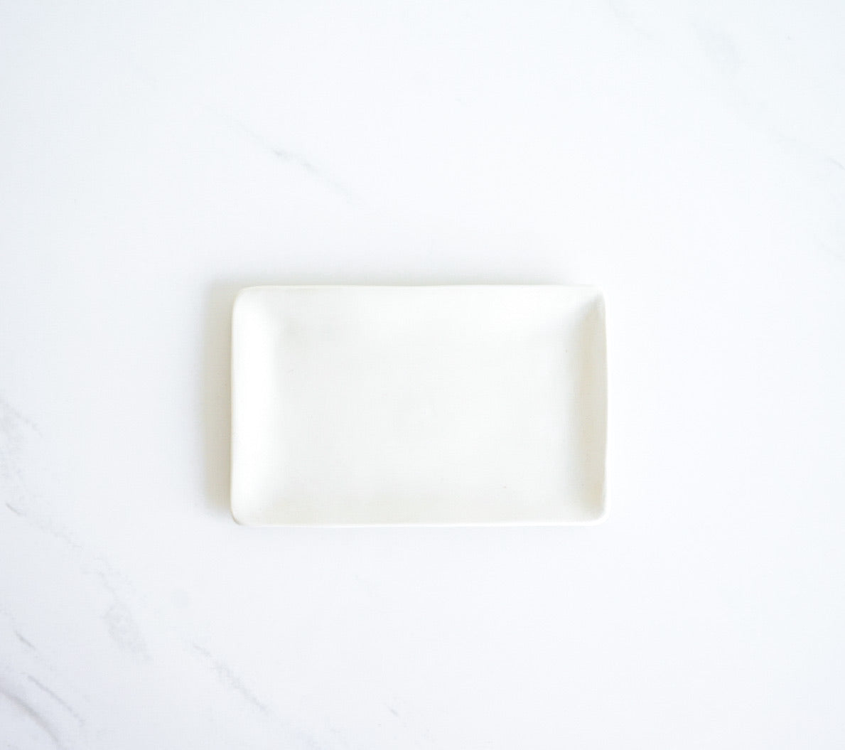 SMALL NATURAL PORCELAIN TRAY