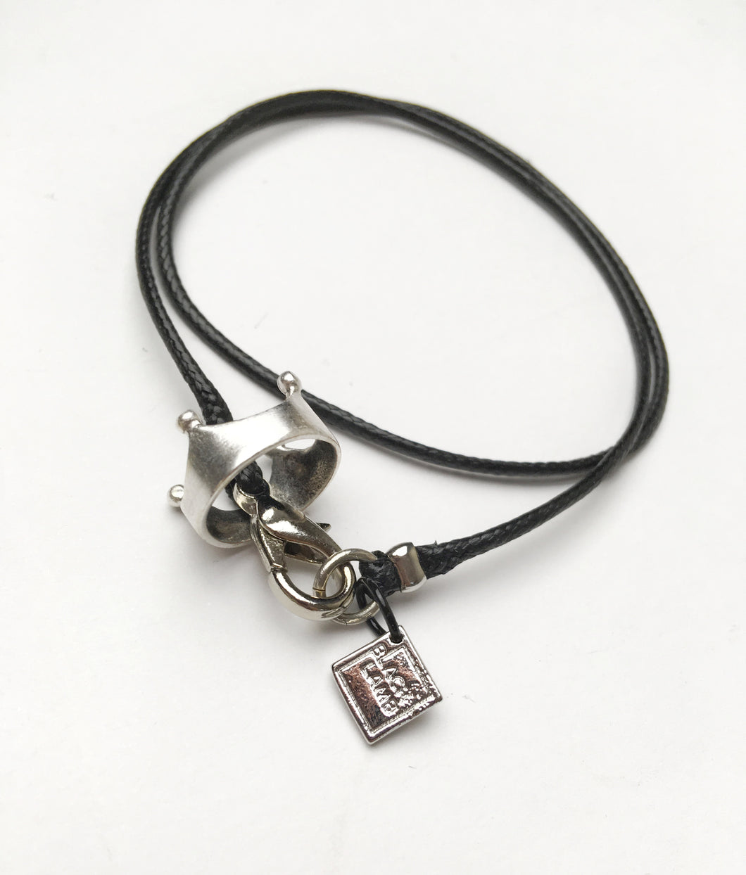King on Cord Necklace