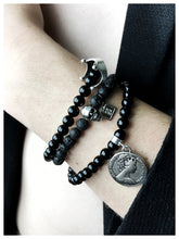 Load image into Gallery viewer, Spend a Penny Onyx Bracelet