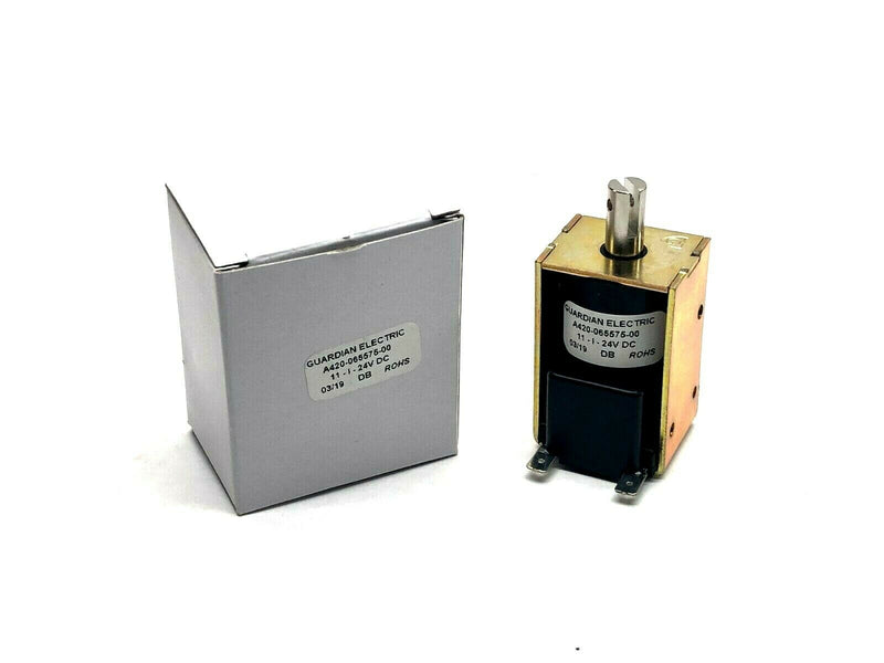 Guardian Electric A420-065575-00 DC Frame Solenoid 24VDC - Maverick Industrial Sales